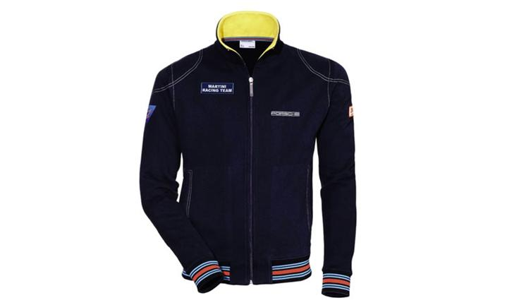 martini racing sweat jacket porsche martini racing. Black Bedroom Furniture Sets. Home Design Ideas