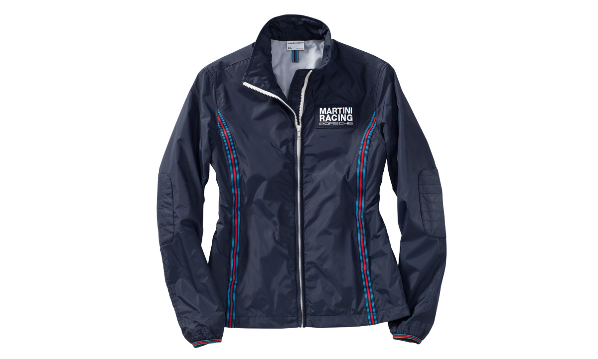 women s windbreaker jacket martini racing porsche. Black Bedroom Furniture Sets. Home Design Ideas