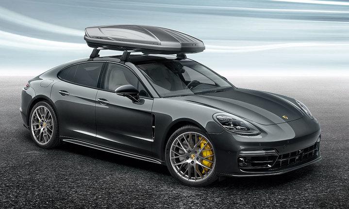Porsche Dachbox 520 Breit Platinum Optik 911 991 Ii Tequipment Porsche Driver S Selection