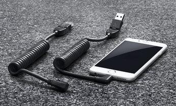スマートフォン充電用USBケーブル マイクロUSB 用