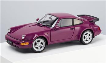Porsche 911 Turbo, rubin, 1:24