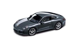 911 Carrera, metallic agate blue 1:43