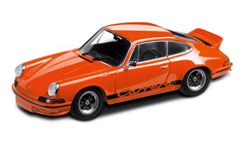 Porsche 911 RS 2.7, orange/schwarz, 1:43