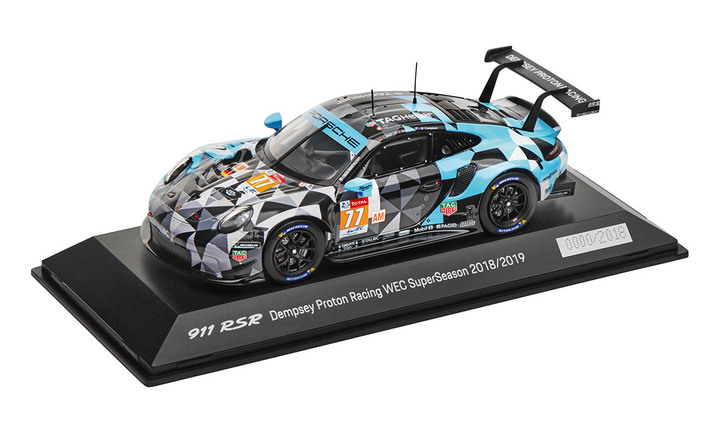 Limited Edition 1:43 Model Car | 911 RSR Proton Dempsey
