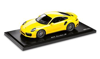 911 Turbo S (991 II), Racing Yellow 1:18