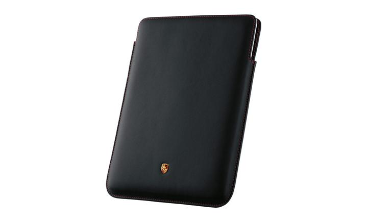 Ipad Case, Black W/Red Stitching
