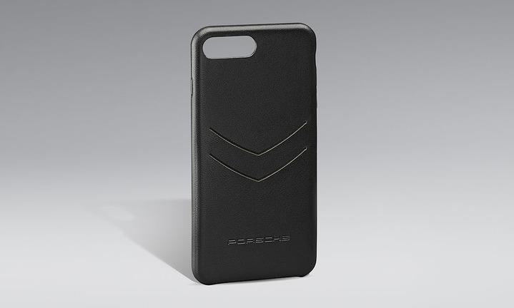 スナップ-オン レザー iPhone 8 Plus