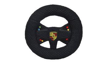ニット製ステアリングホイール(ガラガラ付き)- モータースポーツ