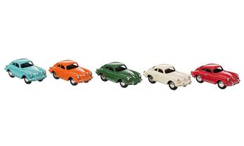 Set of 5 magnetic cars