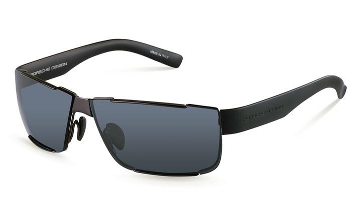 Sunglasses P´8509 C 64 V751, dark gun/blue