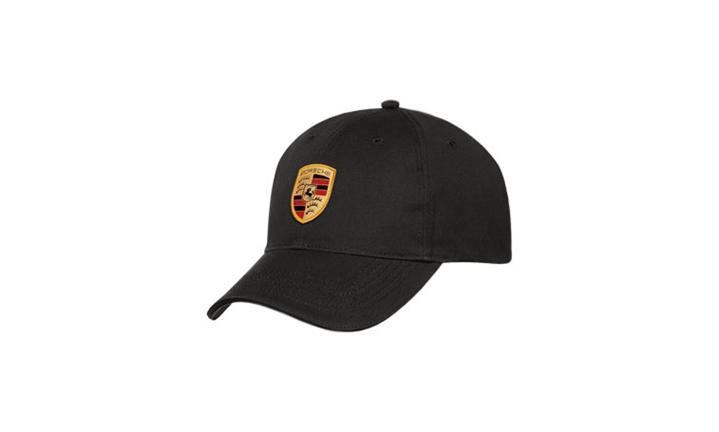 Porsche crest cap black
