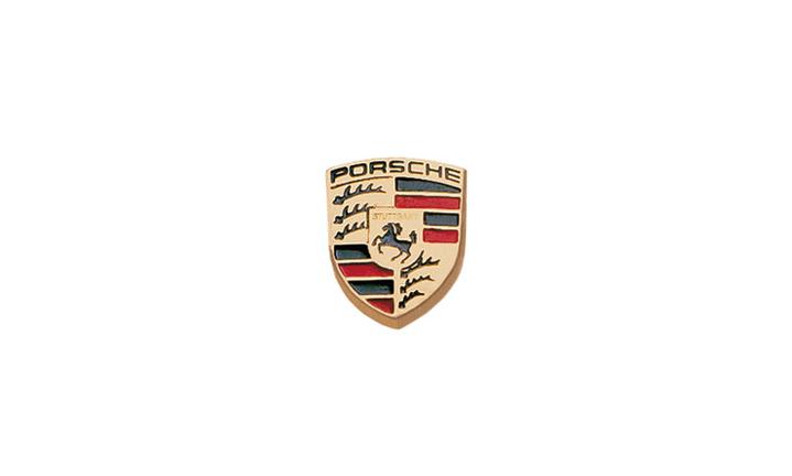 Porsche Crest Button