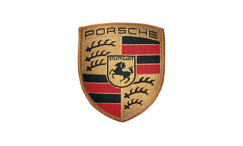 Porsche Crest Sew On Badge (Special Order Only)