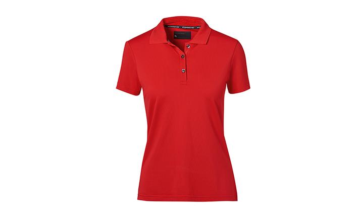 Polo-Shirt, Women, red