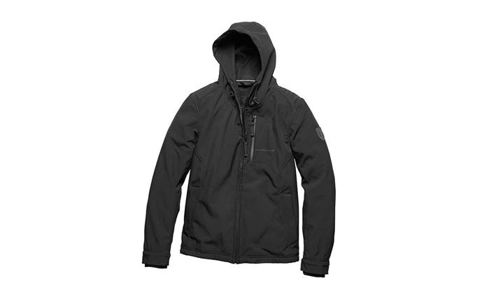 Porsche Men's Softshell Jacket in Black (Special Order Only)