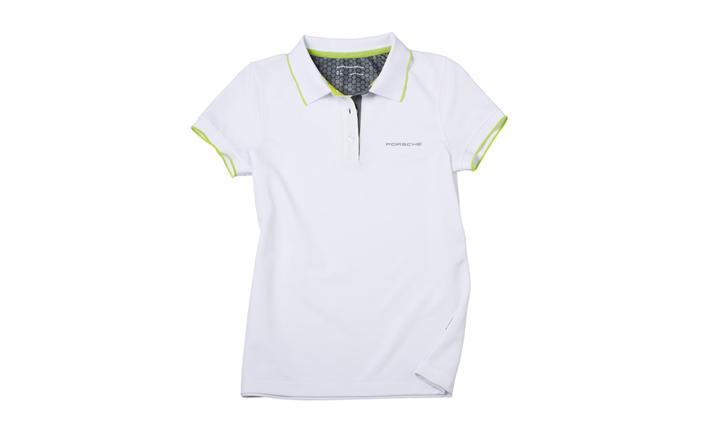Ladies' Sport Polo Shirt in White