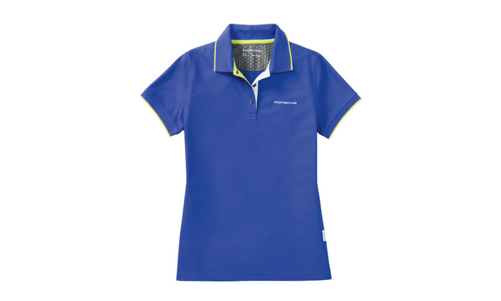 Ladies' Sport Polo Shirt in Aqua Blue