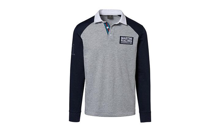 Martini Racing Men's Rugby Shirt in Grey