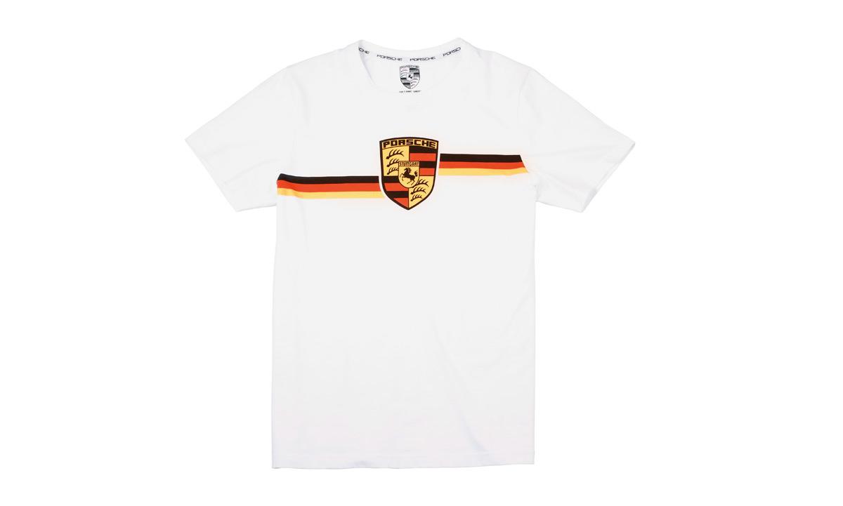 Collectors T Shirt Edition No 1 Porsche Crest Essential