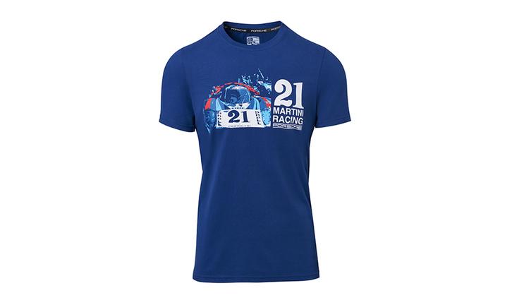 Collectible Tin Unisex T Shirt   Martini Racing