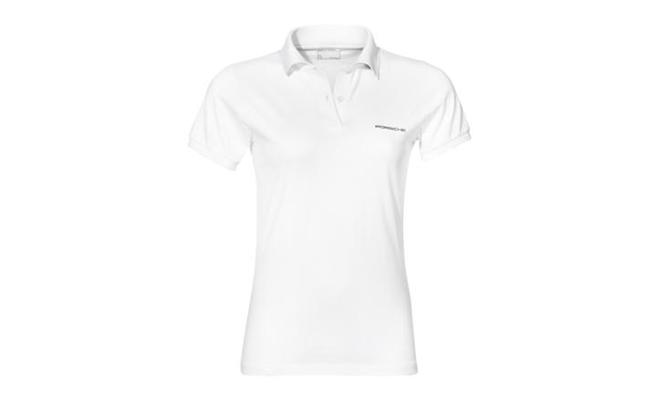 Damen Polo-Shirt, weiß