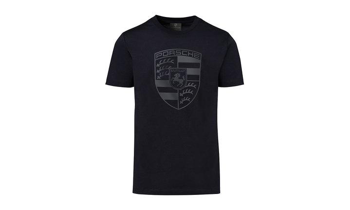 Porsche Men's Crest T Shirt in Black