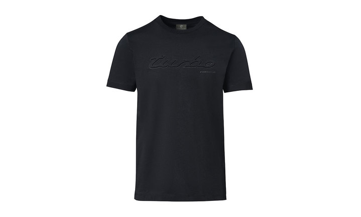 Porsche Men's Turbo T Shirt in Black