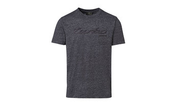 Porsche Men's Turbo T Shirt in Grey