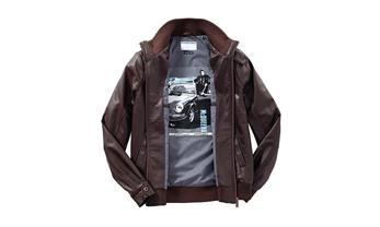 Men's leather blouson – Steve McQueen