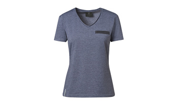 T-Shirt, Woman, grey melange - 911