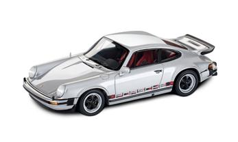 911 Turbo No.1, silber, rot, 1:43
