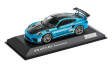 911 GT3 RS con pacchetto Weissach, 1:43, blu miami, Limited Edition