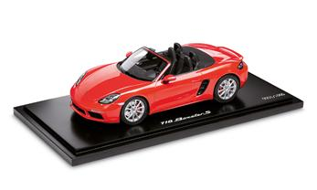 718 BOXSTER S 1:18 LAVA ORANGE