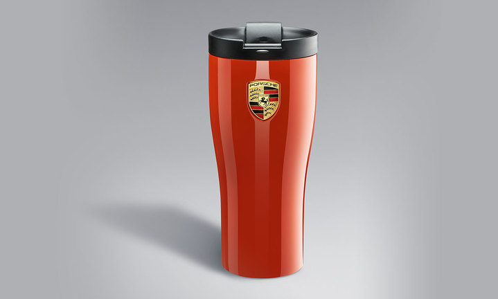 Thermal Mug - Lava Orange