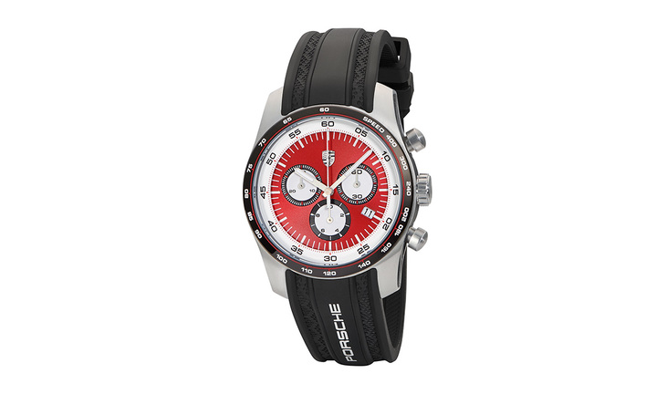 Sport Chrono, silver/black/red