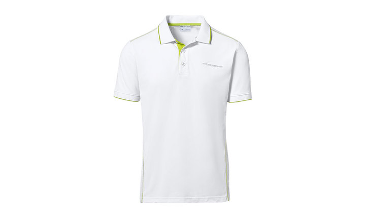 Men`s polo shirt, white – Sport