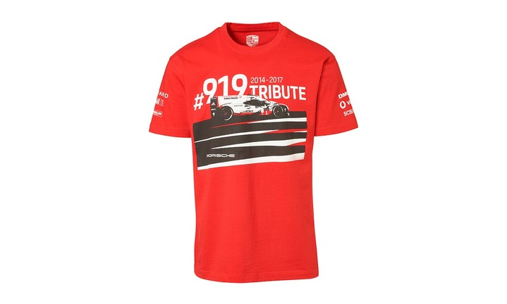 T- Shirt, unisex, rosso - 919 Tribute