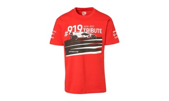T- Shirt, unisex, rot - 919 Tribute