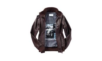 Women's leather blouson – Steve McQueen