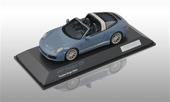 911 Targa 4S, aetnablau, 1:43 - Exclusive Design Edition