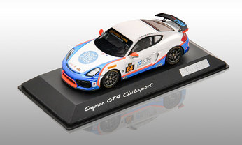 Cayman GT4 Clubsport - Edition Team TGM, 1:43