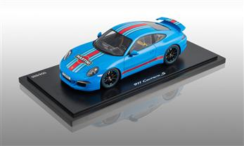 911 (991) Carrera S - Martini Racing, rivierablau, 1:18