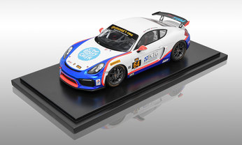 Cayman GT4 Clubsport Edition Team TGM, 1:18