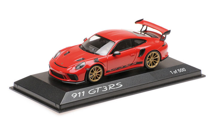 911 GT3 RS, Indischrot, 1:43, Limited Edition