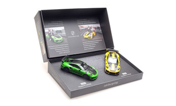 Nürburgring Rundenrekord Set (GT3 RS & GT2 RS), 1:43, Limited Edition