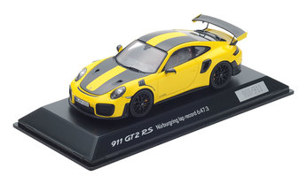 911 GT2 RS mit Weissach Paket, Racinggelb, 1:43, Limited Edition