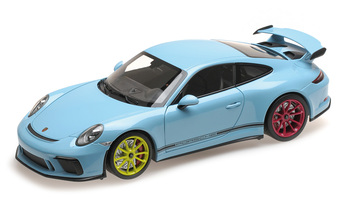 Porsche 911 GT3 Exclusive, gulfblau; 1:18, Limited Edition