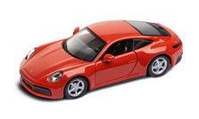 911 Carrera 4S  Pullback, lava orange 1:43