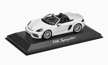 1:43 Model Car | 718 Spyder 982 in White