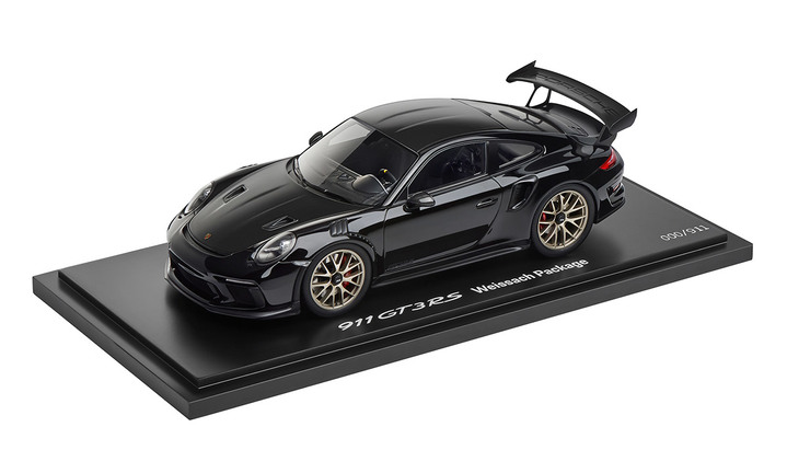 Limited Edition 1:18 Model Car   911 GT3 RS with Weissach Package in Black